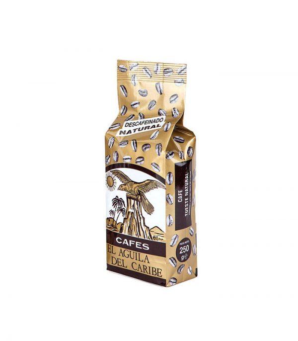 Café natural descafeinado 250 gramos