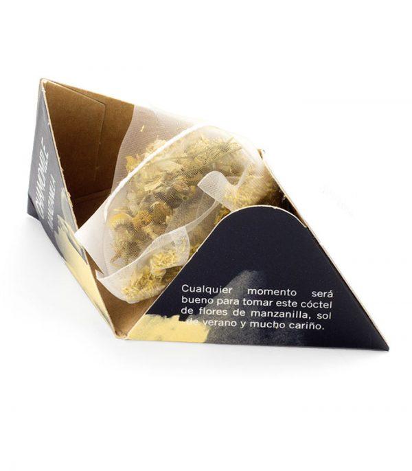 Infusión Manzanilla en pirámide